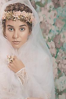 """Prstene - Kvetinový prstienok """"moje šťastie"""" - 10532041_"""