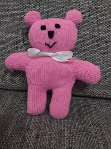 Hračky - Ružový maco - 10531908_