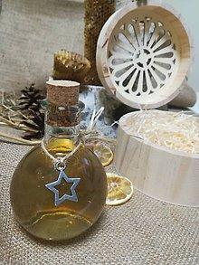 Potraviny - Medovina v darčekovom balení - v drevenej okrúhlej vyrezávanej krabičke - 10530399_
