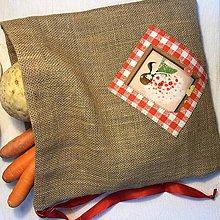 Úžitkový textil - Jutové vrecko - VERONIKA II - 10532172_