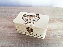 Box z prírodného dreva - Lišiak