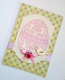 Papiernictvo - veľkonočná pohľadnica - 10531204_