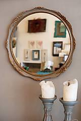 Zrkadlá - Okrúhle blondelové zrkadlo - 10530424_