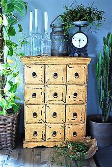 Nábytok - Šuplíková komoda Arles - 10530321_