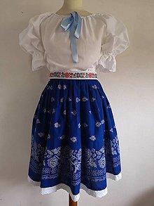 Iné oblečenie - Dámsky folklórny odev - 10535496_