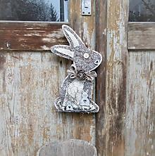 Dekorácie - závesná dekorácia:  Zajačik - 10535661_