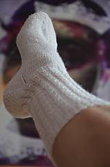 Obuv - Ponožky na nošky - 10534651_