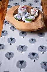 Úžitkový textil - Štóla ovečky - 10534843_
