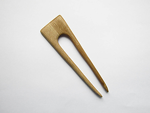 Ozdoby do vlasov - Drevená ihlica do vlasov - 10534194_