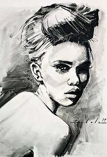 Obrazy - portrety - 10535048_