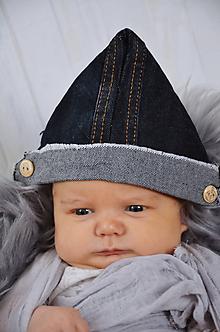 Detské čiapky - Čepička na focení miminek - 10534719_