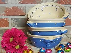 Nádoby - Modrá keramická miska na guláš - maxi - 10533637_