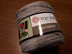 Galantéria - Yarn Art Maccheroni (Šedá svetlá) - 10536724_