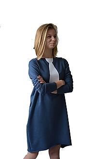 Šaty - Teplákové oversize šaty/tunika Rynn - 10535027_