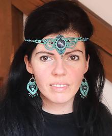 Sady šperkov - Tyrkysový set s Lapis lazuli - 10533809_