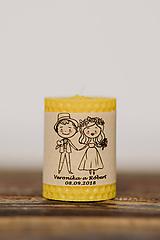 Darčeky pre svadobčanov - Menovka alebo darček pre svadobčanov - Točené -Vzor č.2 - 10532971_