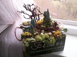 Dekorácie - Jarná dekorácia