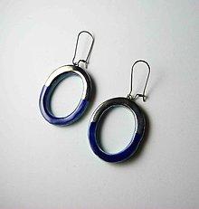 Náušnice - Tana šperky - keramika/platina - 10535945_