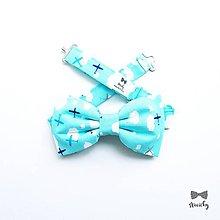 Doplnky - Pánsky motýlik pre pilota - 10535546_
