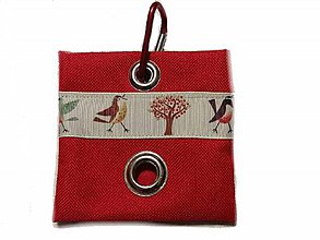 Pre zvieratká - Zásobník na WC vrecká Birds - 10533119_