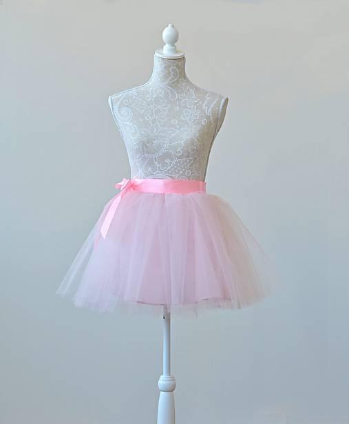 Detská tylová zavinovacia sukňa