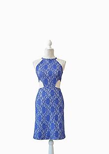 Šaty - Elegantné midi šaty - 10534168_