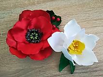 Iné doplnky - Veľké kvety (Divý mak) - 10535068_