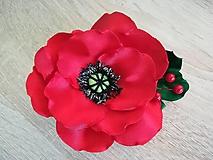 Iné doplnky - Veľké kvety (Divý mak) - 10535301_