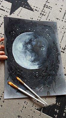 Obrazy - Môj mesiac a hviezdy - 10535247_