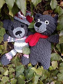 Hračky - Medvedica v pyžamku - 10532960_