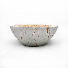 Nádoby - Bowl - betonova nadoba - 10536667_