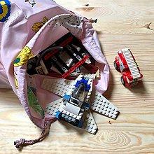 Detské tašky - Vak na hračky (Dalmatínci) - 10535106_