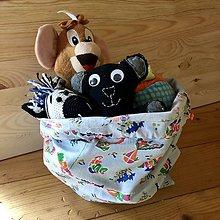 Detské tašky - Vak na hračky (Športovci) - 10535152_