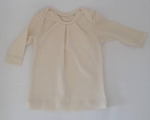 VÝPREDAJ Dievčenská tunika s dlhým rukávom