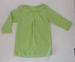 Detské oblečenie - Dievčenská tunika biobavlna - 10534480_