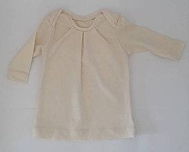 Detské oblečenie - Dievčenská tunika s dlhým rukávom - 10534648_