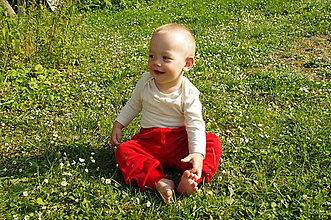 Detské oblečenie - Detské body s dlhým rukávom (3 - 6 mesiacov) - 10535090_