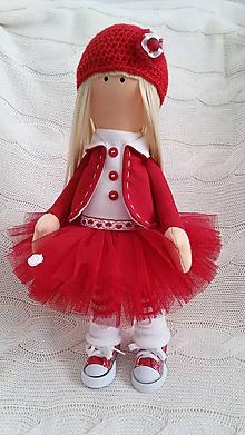 Bábiky - Červená čiapočka - 10534755_