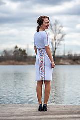Tehotenské oblečenie - Puzdrové šaty na dojčenie 2 - 10532924_
