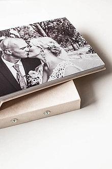 Papiernictvo - Luxusný fotoalbum s tlačou - 10536060_