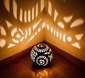 Svietidlá a sviečky - vo víre tanca - svietnik - 10536219_