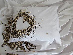 Úžitkový textil - Pohánkovo-špaldový vankúš 40x50cm - 10537025_