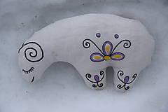 Dekorácie - Ovečka - 10536912_