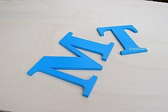 Tabuľky - 13cm iniciály - 10537498_