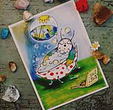 Grafika - Ľubiško magický chrobáčik - 10538780_