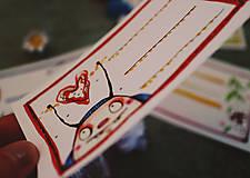 Papiernictvo - Ľubiškove jarné štítky na čokoľvek - 10538836_