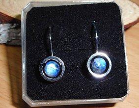 Sady šperkov - Moon stone -mesačný kameň-brincos - 10539715_