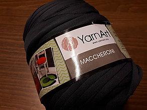 Galantéria - Yarn Art Maccheroni (Šedá tmavá) - 10536736_