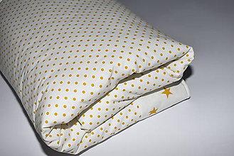 """Úžitkový textil - Deka,prikrývka """"bodka-hviezda* - 10538352_"""