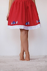 Sukne - Ľudová sukienka - 10539162_